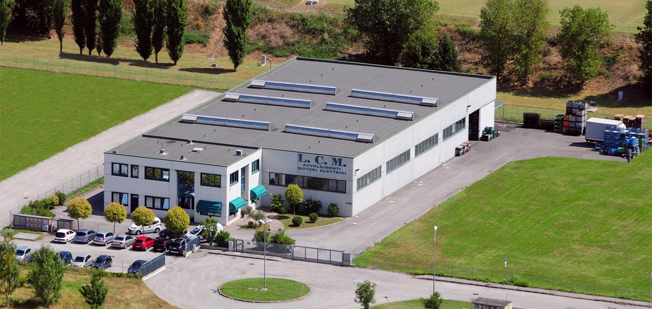 Sede LCM Avvolgimenti Elettrici a Copparo Ferrara